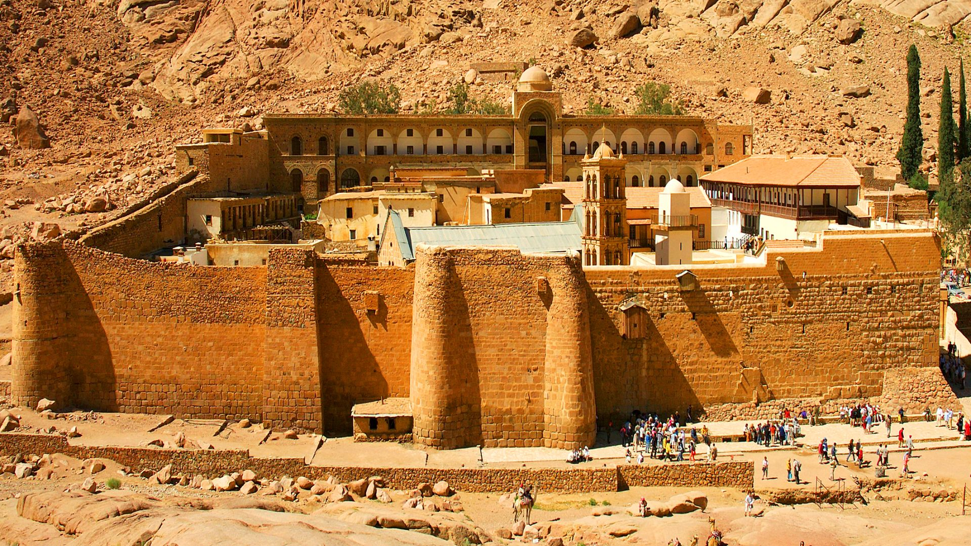 St Catherine Monastery and Mount Sinai
